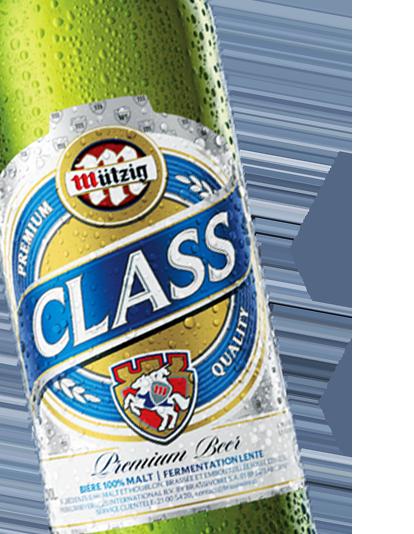 Bière Mützig Class