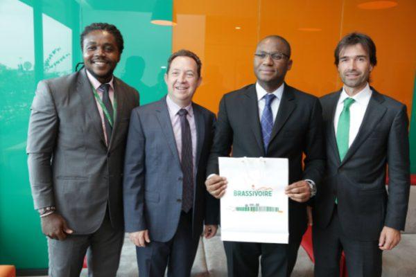 Emploi des jeunes: le ministre Sidi Touré à BRASSIVOIRE