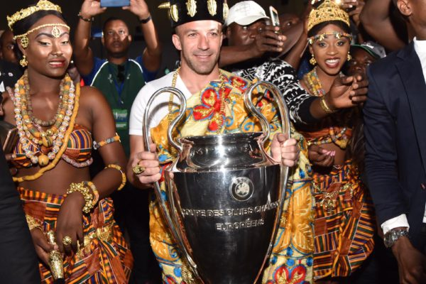 UEFA CHAMPIONS LEAGUE TROPHY TOUR ABIDJAN 2018