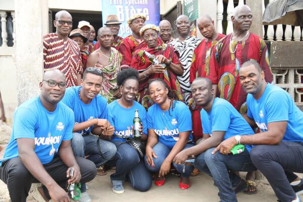 Ivoire Paquinou présentée aux Chefs traditionnels Baoulé