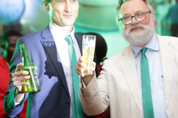 Brassivoire célèbre la marque Heineken en Côte d'Ivoire